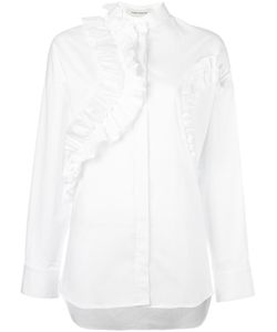 Cedric Charlier | Cédric Charlier Ruffled Shirt 40 Cotton/Other Fibers