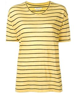 Isabel Marant Étoile | Striped T-Shirt Medium Linen/Flax/Cotton