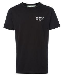 OFF-WHITE | Embroidered T-Shirt Medium Cotton