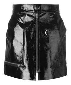 Isabel Marant | Lynne Mini Skirt 38 Cupro/Viscose/Calf Leather
