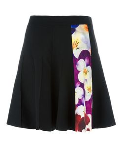 Christopher Kane | Pansy Stripe A-Line Skirt 44 Virgin