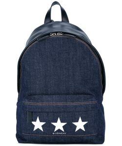 Givenchy | Denim Star Print Backpack Cotton/Spandex/Elastane/Polyester/Nylon