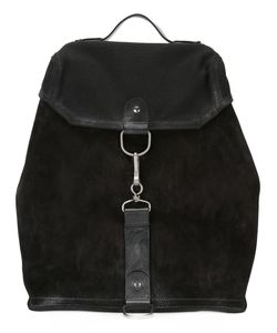 Maison Margiela | Clip Fastening Backpack Calf Leather/Cotton/Calf Suede