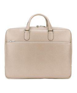 Valextra | Classic Briefcase Calf Leather/Viscose