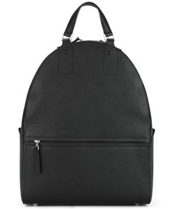 Maison Margiela | Classic Zip Backpack Polyester/Cotton/Leather