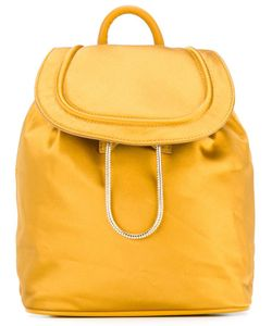 Diane Von Furstenberg | Drawstring Flap Closure Backpack Satin