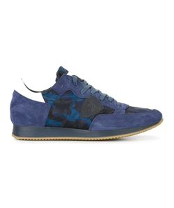Philippe Model | Camouflage Sneakers 44 Rubber/Leather/Suede/Nylon