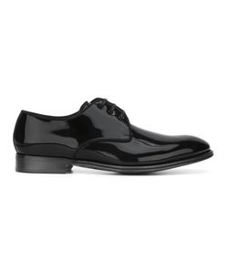 Dolce & Gabbana | Piped Derby Shoes 42 Patent