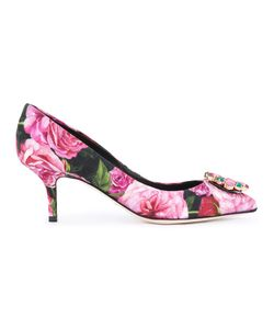 Dolce & Gabbana | Bellucci Brocade Pumps 36 Cotton/Leather/Metal