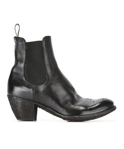 Officine Creative | Ankle Boots 38.5 Calf Leather/Leather/Rubber