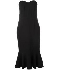Dolce & Gabbana | Strapless Peplum Dress 38 Virgin