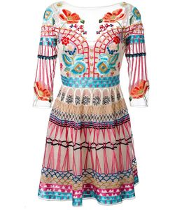 Temperley London | Mini Aura Dress 10 Silk/Nylon/Spandex/Elastane