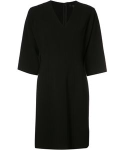 Derek Lam | Bell Sleeve Dress 38 Virgin Wool/Spandex/Elastane