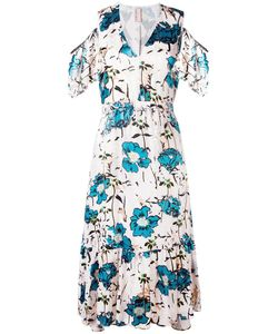 Antonio Marras | Cold Shoulder Dress 40 Polyester/Polyamide/Spandex/Elastane/Cupro