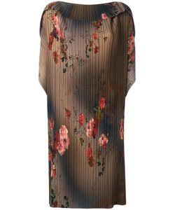Antonio Marras | Plissé Dress 40 Polyester/Spandex/Elastane/Acetate/Viscose