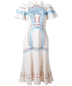 Temperley London | Juniper Dress 10 Polyester/Spandex/Elastane/Silk