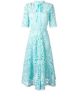 Temperley London | Berry Lace Neck Tie Dress Size 8