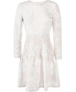 Huishan Zhang | Kiera Skater Dress 10 Cotton/Nylon/Silk