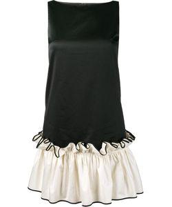 Huishan Zhang | Ruffle Hem Mini Dress 6 Cotton