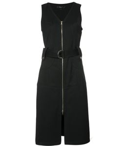 Derek Lam | Front Zip Dress 46 Cotton/Polyamide/Spandex/Elastane