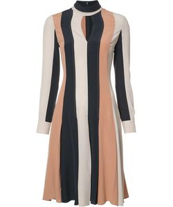 Derek Lam | Keyhole Neckline Dress 40 Silk