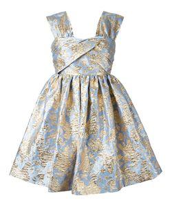 MSGM | -Tone Jacquard Roses Dress 42 Polyester/Polyamide Fibre