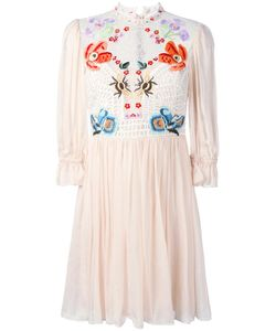 Temperley London | Mini Aura Lace Sleeved Dress 12