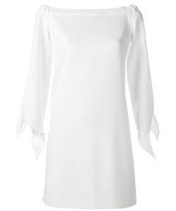 Tibi | Off-Shoulders Shift Dress 6 Polyester/Spandex/Elastane