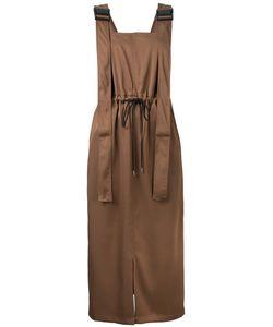 G.V.G.V. | Twill Utility Pinafore Dress 36 Polyester/Triacetate