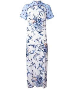 Antonio Marras | Collar Long Dress 40 Cupro/Viscose/Polyester/Spandex/Elastane