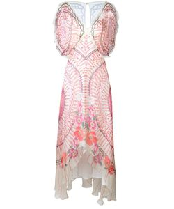 Temperley London | Long Dream Catcher Dress 14 Silk/Spandex/Elastane