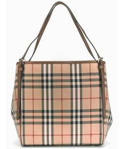 Burberry | House Check Shoulder Bag Polyamide/Calf Leather