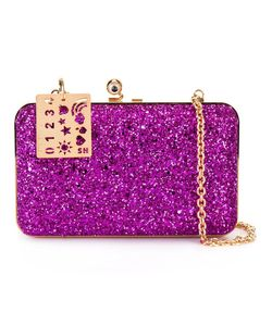 Sophie Hulme | Glitter Clutch Plastic/Metal Other/Pvc