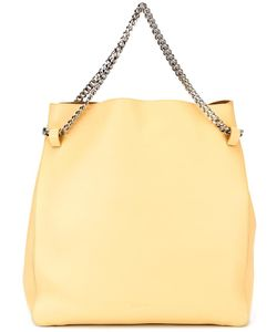 Jil Sander | Double Chain Straps Tote Calf Leather