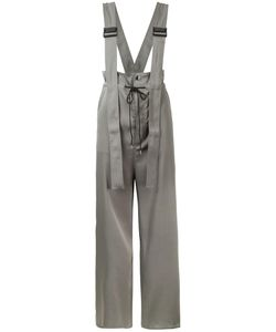 G.V.G.V. | Twill Utility Braces Jumpsuit 34 Polyester/Triacetate