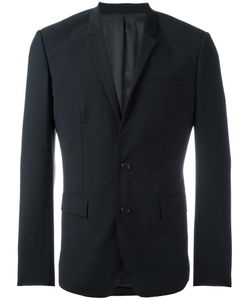 JUUN.J   Single Breasted Dinner Jacket 46 Nylon/Polyester/Polyurethane/Wool