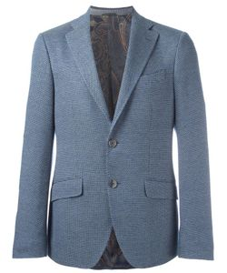 Etro | Patterned Blazer 52 Silk/Cupro/Cotton