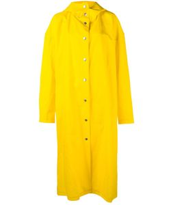 A.W.A.K.E | Long Raincoat Xs Linen/Flax/Cotton/Polyurethane