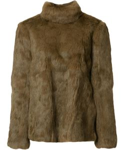 VANESSA SEWARD | Back Fastening Jacket 2 Rabbit Fur/Polyester/Cellulose