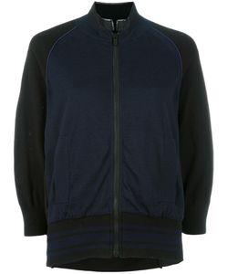 Sacai | Raglan Sleeve Bomber Jacket 3 Cotton/Cashmere