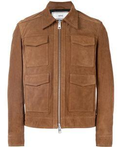 Ami Alexandre Mattiussi | Suede 4 Pocket Jacket Medium