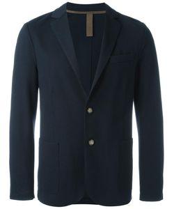 Eleventy | Patched Elbows Blazer 42 Cotton/Nylon/Spandex/Elastane/Acetate