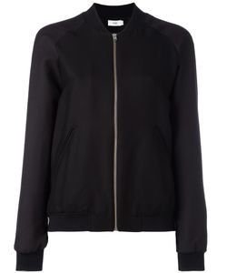 Closed | Zipped Bomber Jacket Small Cotton/Viscose