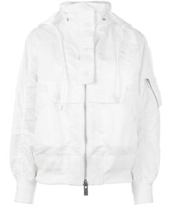 Sacai | Hooded Bomber Jacket 2 Nylon/Polyester/Cotton/Cupro
