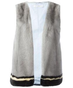 INÈS & MARÉCHAL | Ines Marechal Yukaidi Gilet 36 Cotton/Mink Fur