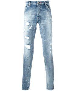 Philipp Plein | Artistic Jeans 38 Cotton/Spandex/Elastane