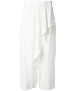 Antonio Marras | Ruffle Detail Pants 40 Acetate/Viscose/Cotton