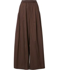 TOME | Wide Stripe Long Karate Trousers Xs Cotton
