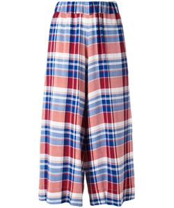 Antonio Marras | Checked Cropped Trousers 2 Viscose