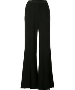 HELLESSY | Slit Leg Flared Trousers 8 Viscose/Spandex/Elastane/Silk